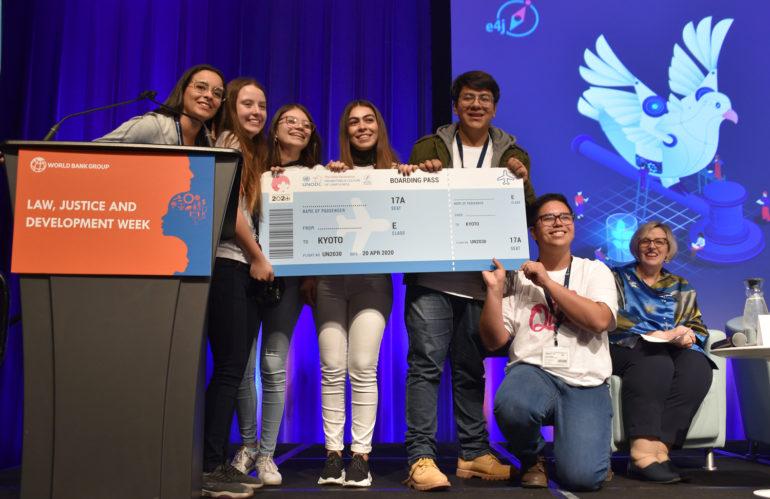 Equipo Mexicano gana hackathon en Washigton D.C.