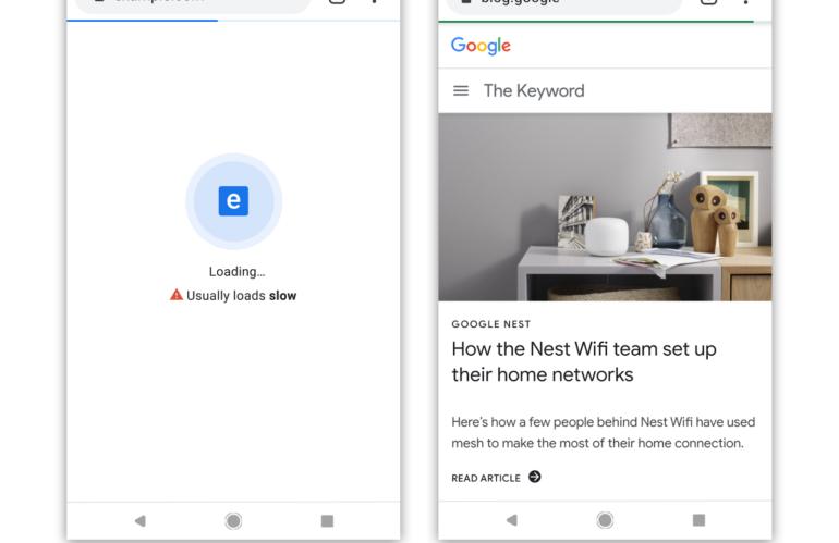 Google Chrome etiquetará a las páginas web