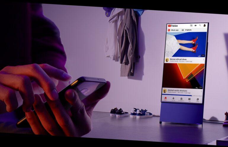 Samsung lanza nueva pantalla para ver TikTok e Instagram