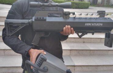 Rifles anti-drone en la marcha 8M sobre palacio nacional - ServiciosRawr
